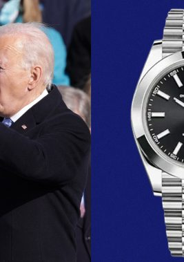 Looks Like Joe Biden Got a New Watch to Celebrate His Big New Job