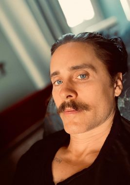 Jared Leto Is Inspiring Mustache Envy